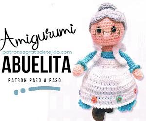Patrón de Amigurumi Abuelita ♥  paso a paso