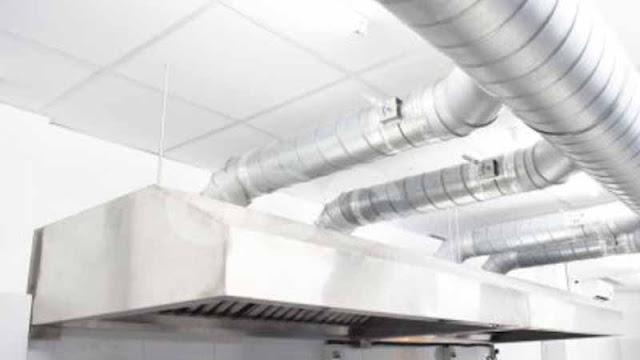 Hệ thống xử lý mùi khói trong thiết kế nhà hàng BBQ