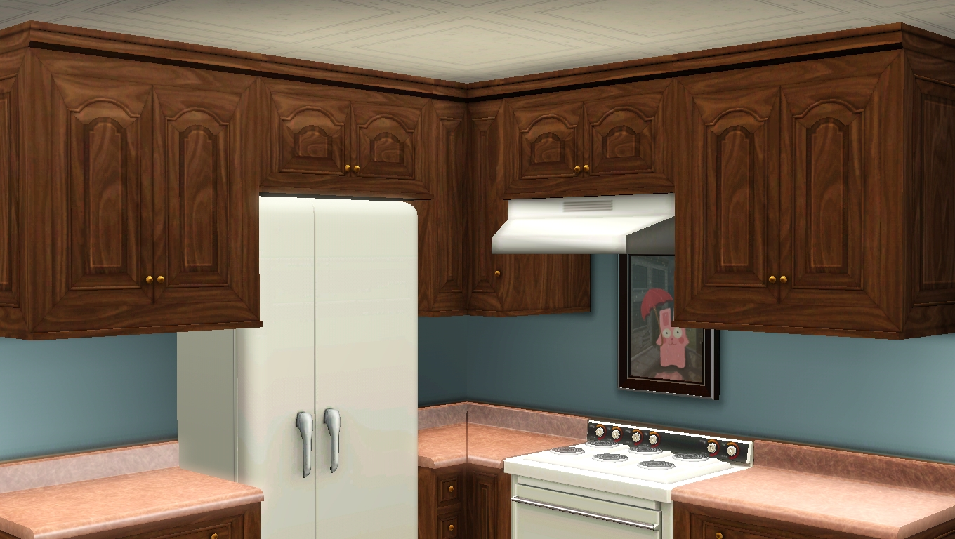My sims 3 blog 5 maxis match kitchen cabinets by omega star for 5 star kitchen cabinets