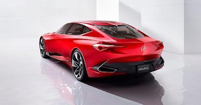 Acura dan süper bir konsept otomobil