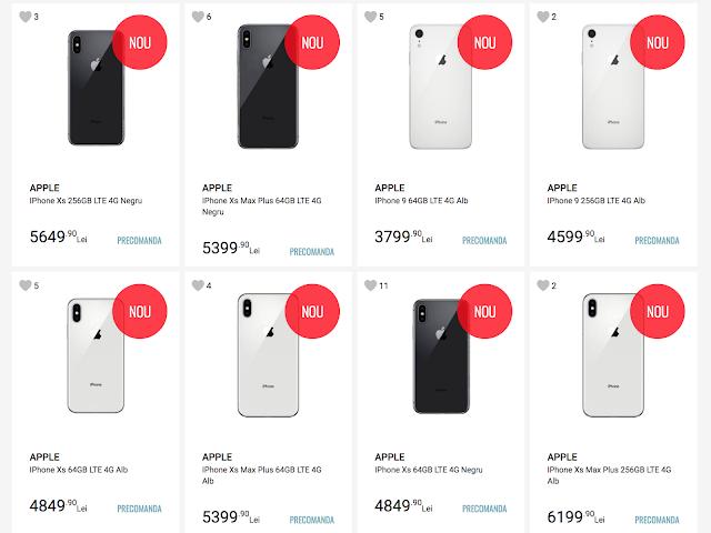 Apple iPhone XS, XS Max, iPhone 9 Pre-Orders di Situs Rumania Mengungkap Harga, Fitur Utama