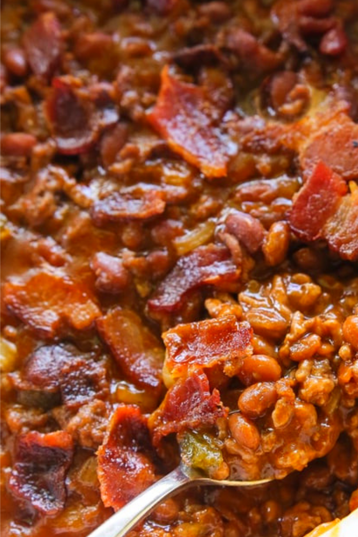 The Best Baked Beans With Ground Beef