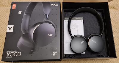 AKG Y500 Kablosuz Kulaklık Siyah