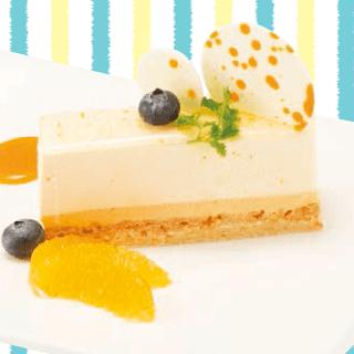 オレンジとホワイトチョコのムース(2019夏)