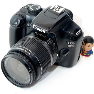 Kamera DSLR Second Canon EOS 1100D