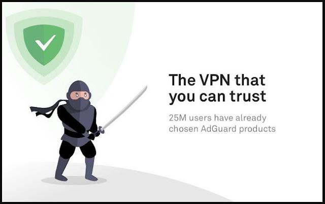 تخطي الحجب على جوجل كروم AdGuard VPN — Privacy & Security