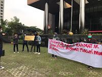 JMHI Gelar Aksi Jilid III di Depan Gedung KPK dan Mabes Polri