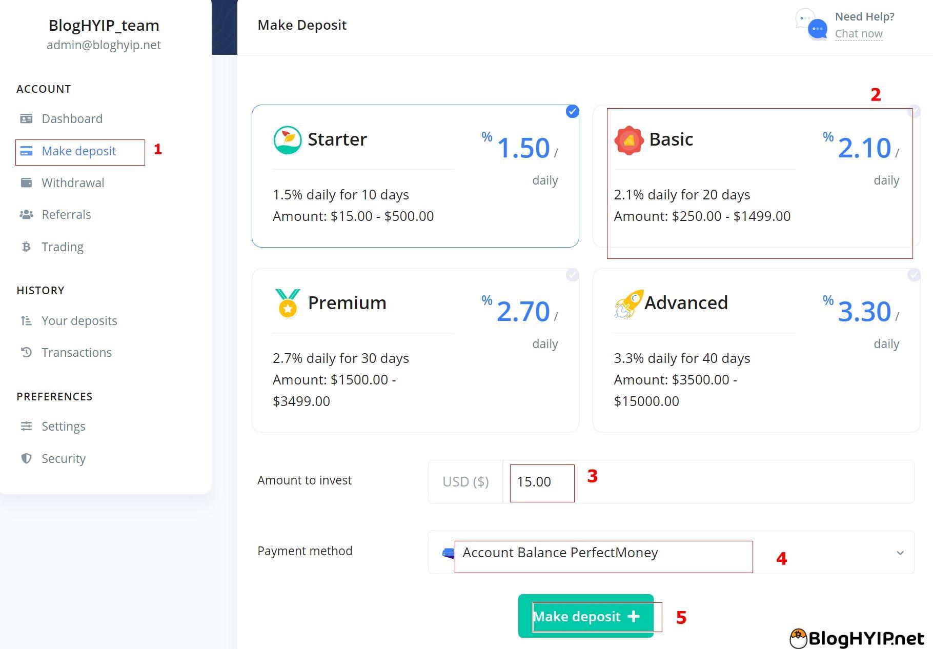review hyip : revenue-bank.com
