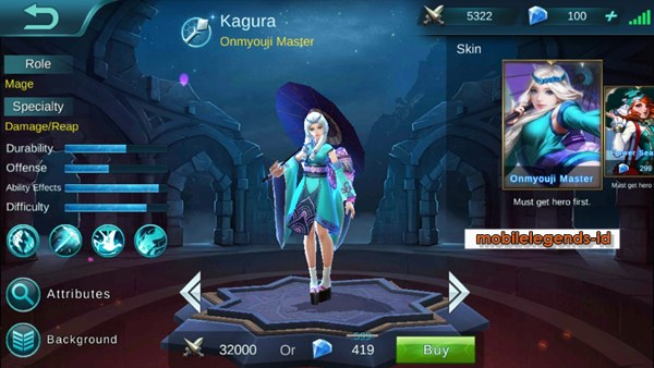 Skin Flower Season Kagura