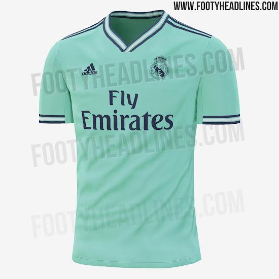 Tercera camiseta Real Madrid 2019-2020