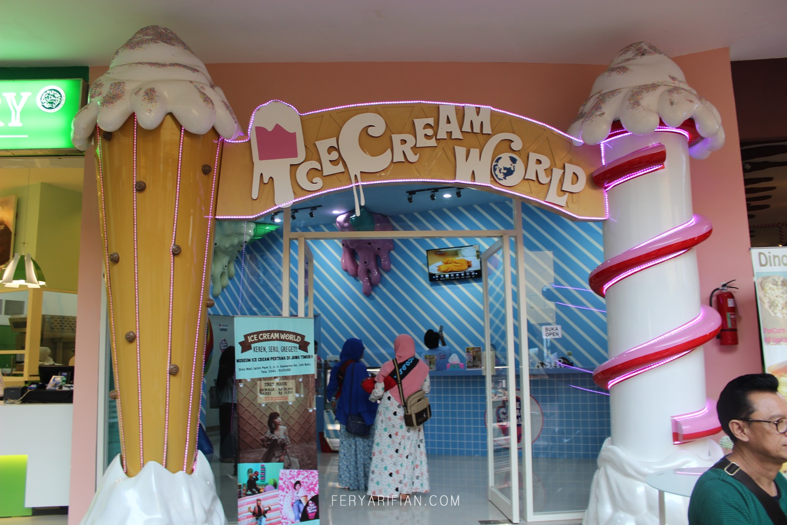 Inilah Spot Selfie Lucu Ice Cream World Jatim Park 3 Batu Travel