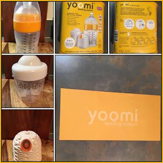 Yoomi baby bottle
