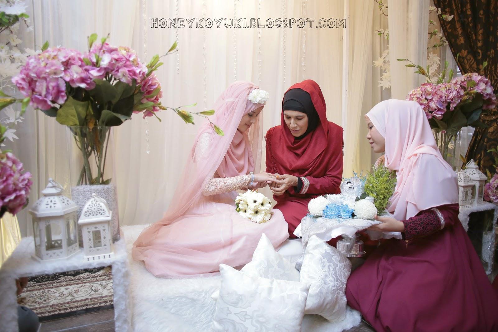 Fatin Liyana Majlis Pertunangan Fatin Liyana