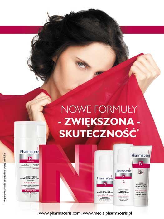 Nowości :: Pharmaceris N <br>– nowe formuły dla cery naczynkowej