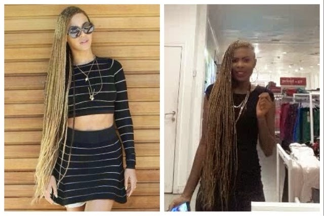 Who Rocked The Long One Sided Braids Better Beyonce Vs