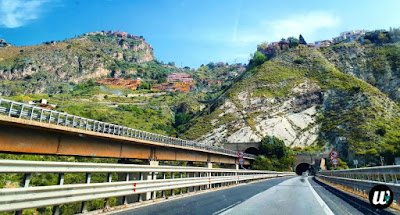 Road tunnel, riving | Sicily, Italy | wayamaya
