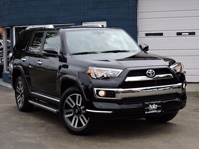 2018 Toyota 4Runner Limited in Black