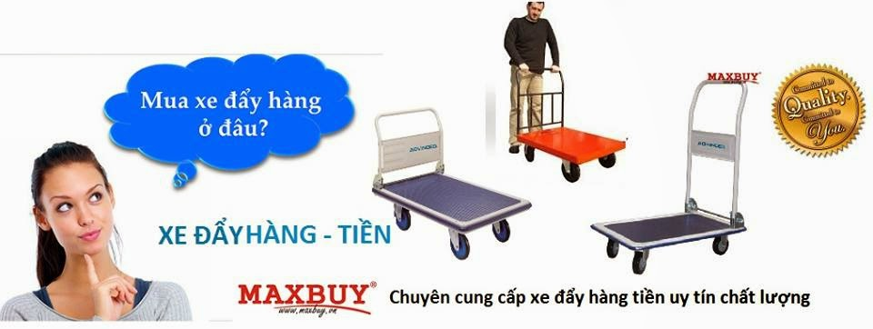 xe đẩy hàng tại maxbuy.vn