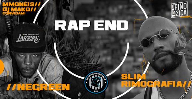 Negreen The Creator e Slim Rimografia vão estar na nona edição do RAP END