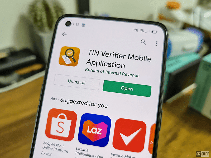 Verifying TIN made easier, BIR launches its official mobile app