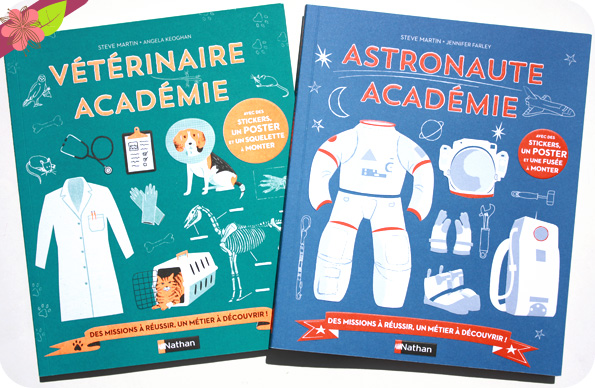 Vétérinaire Académie et Astronaute Académie - Nathan