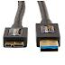 Cabo USB 3.0 Macho A para Micro B -Disco Externo -Conector dourado-TV