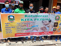 GNI Kota Medan, GNI Deli Serdang Bersama SGM (Solidaritas Gerakan Masyarakat) : Galang Dana Untuk Adik Jihan Penderita Luka Bakar
