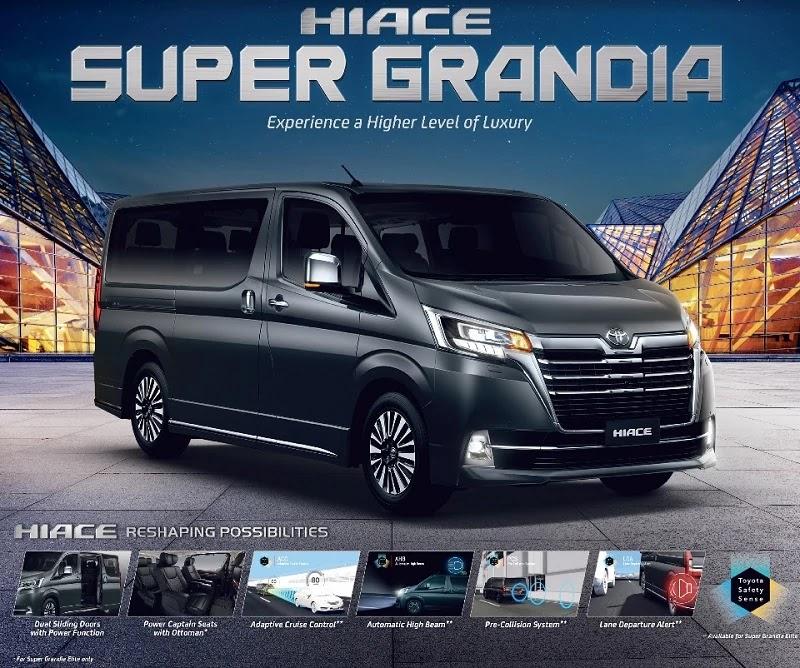 2019 Toyota Hiace Super Grandia