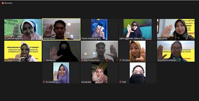 Dosen dan Mahasiswa UTI Lakukan PKM Bersama Komunitas Odapus Lampung Secara Virtual Meeting