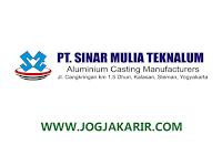Lowongan Kerja Sleman Juni 2021 di PT Sinar Mulia Teknalum