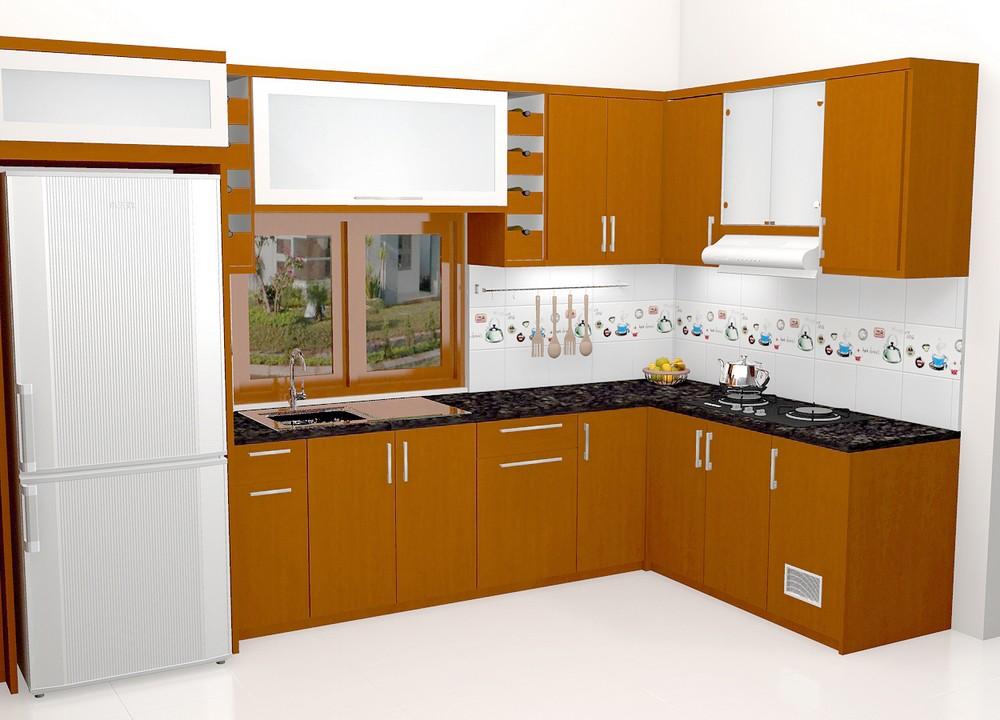 Lemari Dapur Kitchen Set Minibar Interior Dapur Custom Furniture