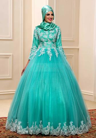 32 Inspirasi Model Baju Pengantin Muslimah Modern Masa Kini