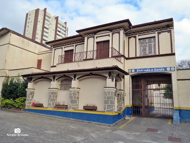 Vista ampla de Casarão na Rua Dr. Diogo de Faria 171 - Vila Mariana - São Paulo