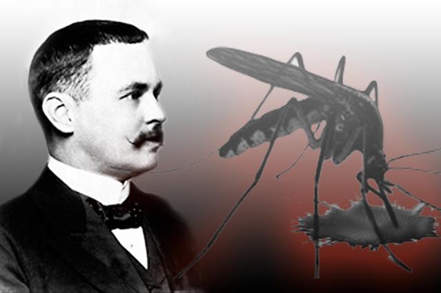 Ronald Ross penemu parasit malaria berkebangsaan Inggris