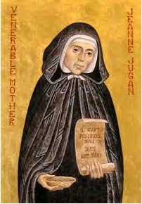 ST JEANNE LUGAN, Sister Mary of the Cross