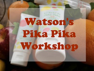 Watson's Pika Pika Sparkling Bright Workshop