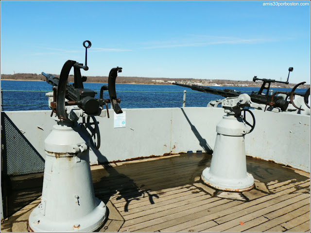 USS Massachusetts en el Museo de Battleship Cove