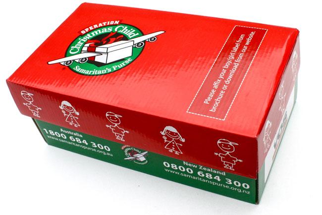 Samaritan S Purse Shoe Boxes Labels