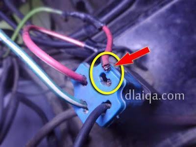Kabel Socket Relay Putus