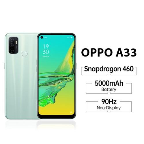 Spesifikasi singkat OPPO A33