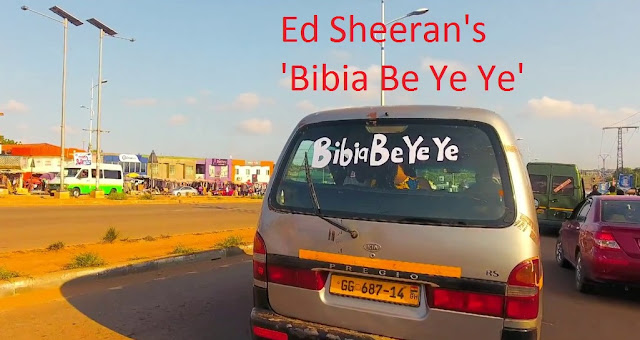 Ed Sheeran releases new song 'Bibia Be Ye Ye' Song Art