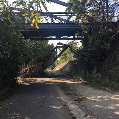 Rive Tevere Ponte di Ferro