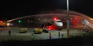 Aeroporto de Juazeiro do Norte  recebe o moderno Embraer E195-E2 pela primeira vez