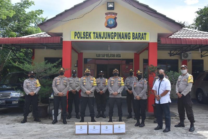 Kunjungan dan Tatap Muka, Kapolres Tanjungpinang Beri Motivasi Personel Polsek Tanjungpinang Barat