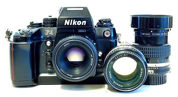 Nikon F4 35mm AF SLR Camera
