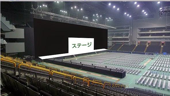【さいたまスーパーアリーナ/京セラドーム大阪 座席表】ワンダイレクション 2015来日公演のアリーナ・スタンド席の見え方