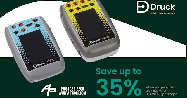 35% Off a Druck DPI620PC or DPI620SPC Package