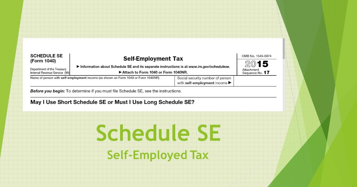 Office Tax Services Your Self Employed Tax Obligations
