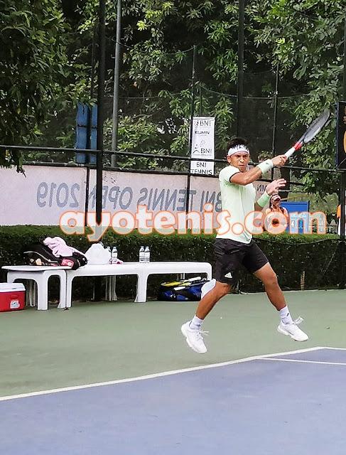 Christo dan Boneng Melaju ke Semifinal Turnamen Tennis Open di Jakarta