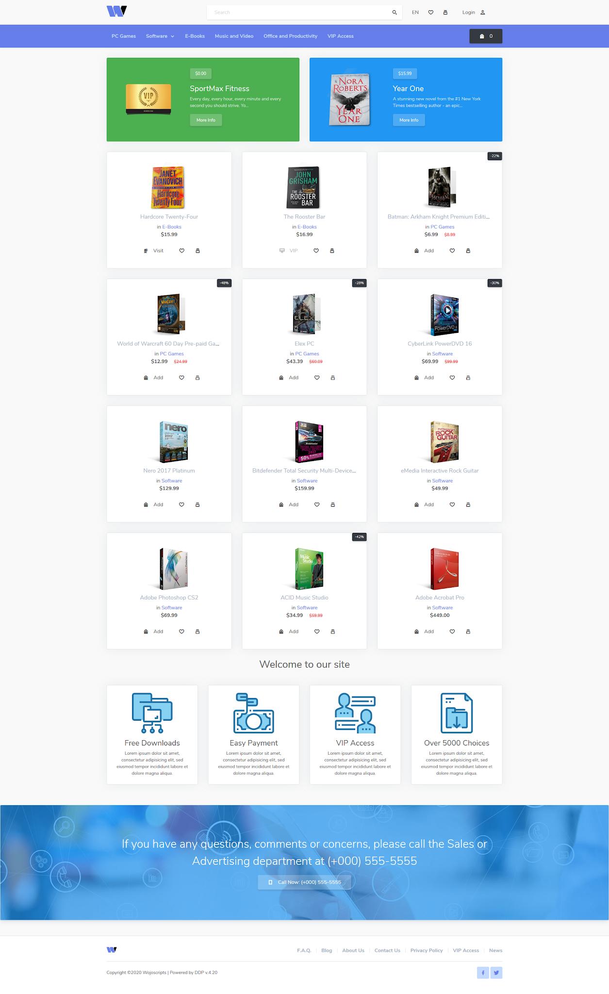 Web Toko Online Digital Download Sistem Membership